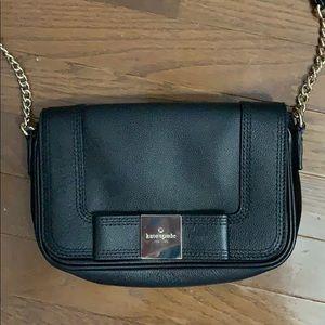 small Kate Spade Black Leather Crossbody